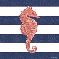 Seahorse Stripe Fine Art Print