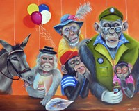 Cheeky Monkey Fine Art Print