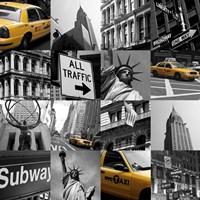 New York Multi Fine Art Print