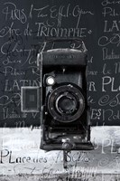 Vintage Camera I Fine Art Print