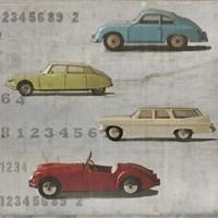 Vintage Cars Fine Art Print