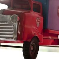 Red Truck Fine Art Print