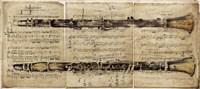 Clarinet Fine Art Print