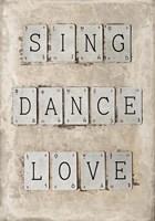 Sing Fine Art Print