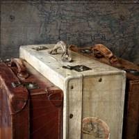 Suitcases 2 Fine Art Print