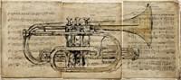 Trumpet 2 Fine Art Print