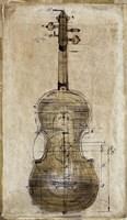 Violin 2 Fine Art Print