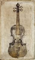 Violin 3 Fine Art Print