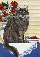 Maine Coon Cat Fine Art Print