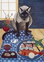 Sushi Lover Fine Art Print