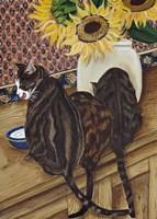 Kitchen Cats Fine Art Print