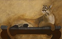 She's a Cougar Fine Art Print