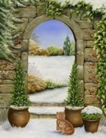 Christmas Garden Fine Art Print