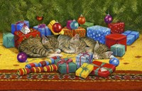 Under The Christmas Tree Fine Art Print
