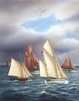 Sailing Oldtimers Fine Art Print