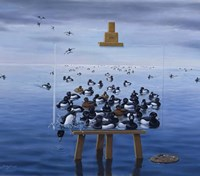 Tufted Ducks Fine Art Print