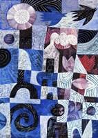 Blue Garden Fine Art Print