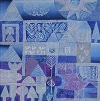 Blue Gardens Fine Art Print