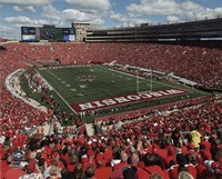 Camp Randall Stadium University of Wisconsin Badgers 2015 Fine Art Print