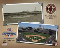 West Side Park / Wrigley Field Composite Fine Art Print