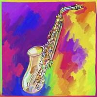 Saxophone Fine Art Print