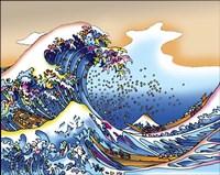 Pop Art Great Wave Fine Art Print