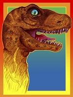 Pop Art Dinosaur 3 Fine Art Print