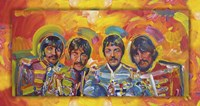Beatles Sgt Peppers Framed Print
