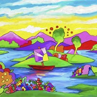 Mamboland Landscape 815 Fine Art Print