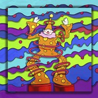 Pop Art Clown Fine Art Print