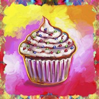 Cosmic Cupcake Fine Art Print