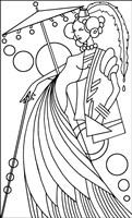 Art Deco Lady 3 Fine Art Print