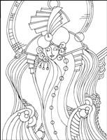 Art Deco Lady Fine Art Print