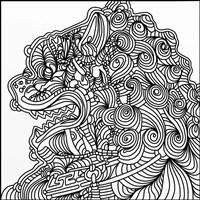 Asian Lion Fine Art Print