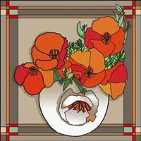 Poppy Bowl Fine Art Print