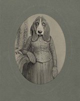 Bloodhound Fine Art Print