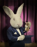 Rabbit Magician Fine Art Print