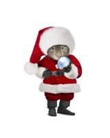 Santa Mouse Fine Art Print