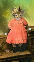 Cat And Mouse 2 Fine Art Print