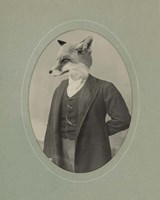 Gentleman Fox Fine Art Print