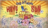 Girls Wanna Sun Fine Art Print