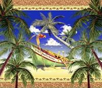 Boat Toast Motif Fine Art Print