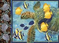 Turtle Hatchlings Fine Art Print