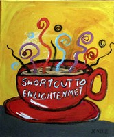Shortcut To Enlightenment Fine Art Print