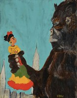 Frida Kong Framed Print