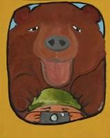 Smile Grizzley Fine Art Print