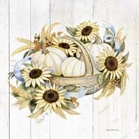 Autumn Elegance IV Gold Fine Art Print