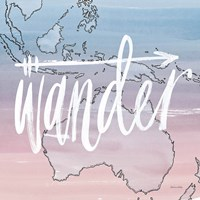 World Traveler Wander Fine Art Print