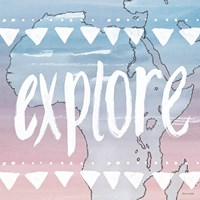 World Traveler Explore Fine Art Print