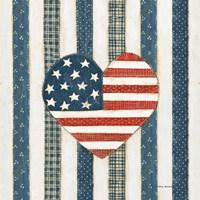 Americana Quilt VI Fine Art Print